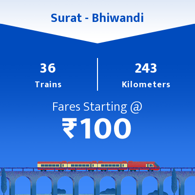 Surat To Bhiwandi Trains