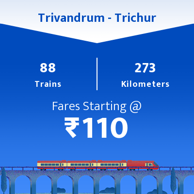 Trivandrum To Trichur Trains