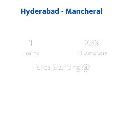 Hyderabad To Mancheral Trains