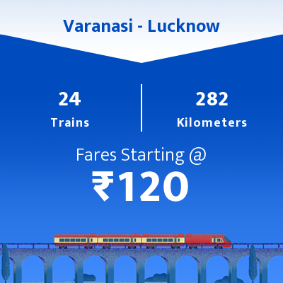 Varanasi To Lucknow Trains