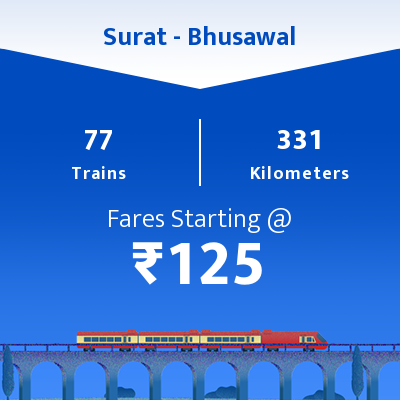 Surat To Bhusawal Trains
