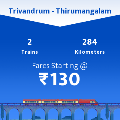 Trivandrum To Thirumangalam Trains