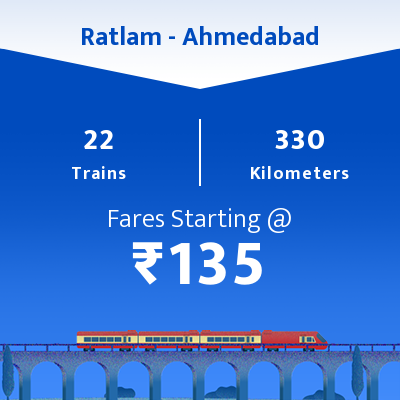 Ratlam To Ahmedabad Trains