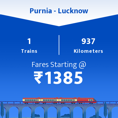 Purnia To Lucknow Trains