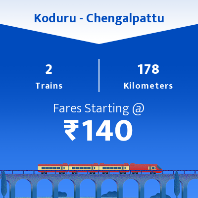 Koduru To Chengalpattu Trains