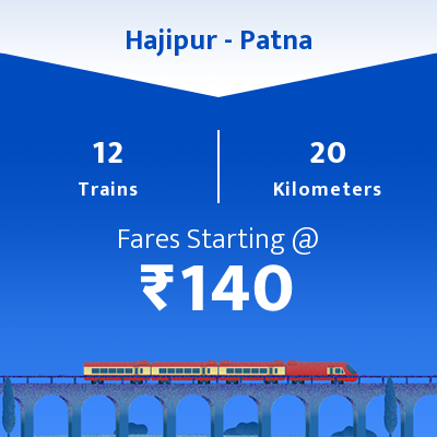 Hajipur To Patna Trains