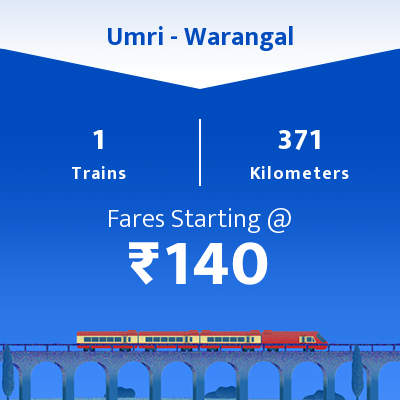 Umri To Warangal Trains