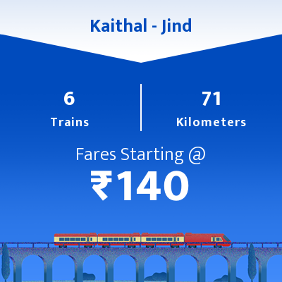 Kaithal To Jind Trains