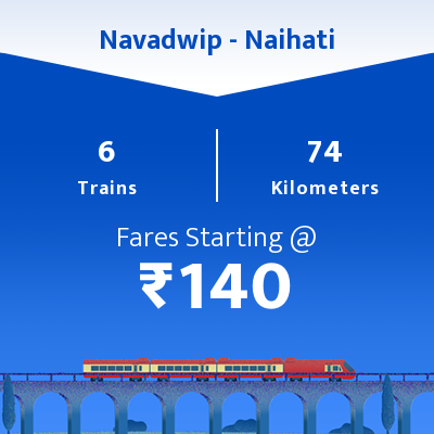 Navadwip To Naihati Trains