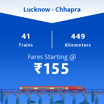 Lucknow To Chhapra Trains