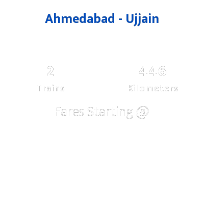 Ahmedabad To Ujjain Trains