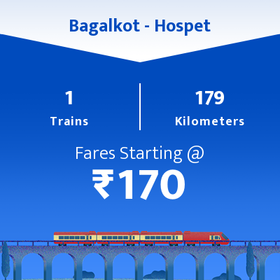 Bagalkot To Hospet Trains