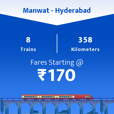 Manwat To Hyderabad Trains