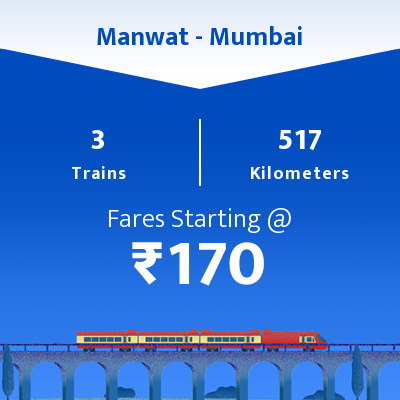 Manwat To Mumbai Trains