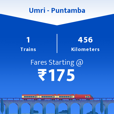 Umri To Puntamba Trains