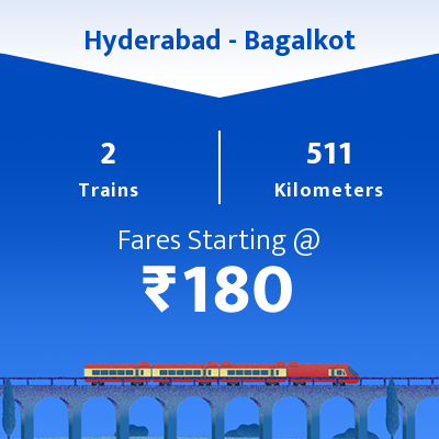 Hyderabad To Bagalkot Trains