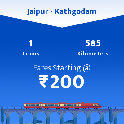 Jaipur To Kathgodam Trains