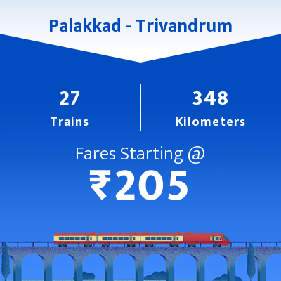 Palakkad To Trivandrum Trains