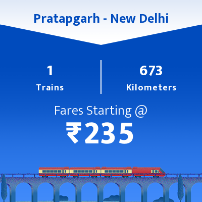 Pratapgarh To New Delhi Trains