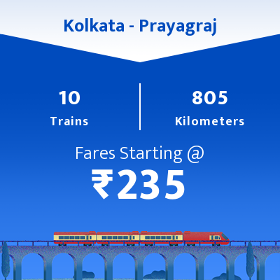 Kolkata To Prayagraj Trains