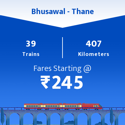 Bhusawal To Thane Trains