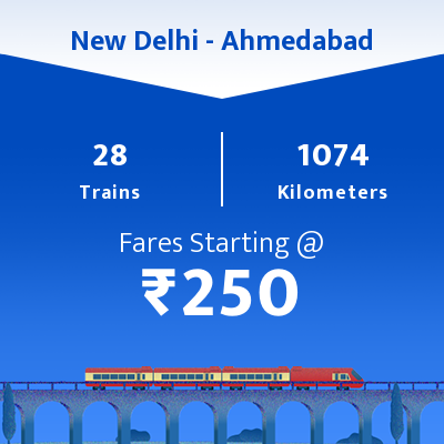 New Delhi To Ahmedabad Trains