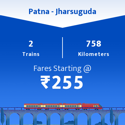 Patna To Jharsuguda Trains