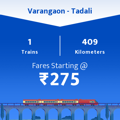 Varangaon To Tadali Trains
