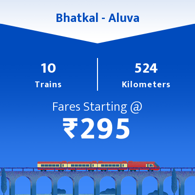 Bhatkal To Aluva Trains