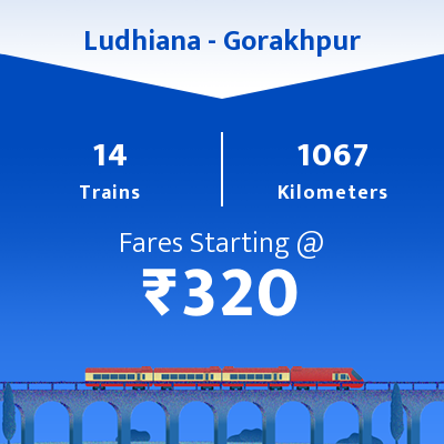 Ludhiana To Gorakhpur Trains