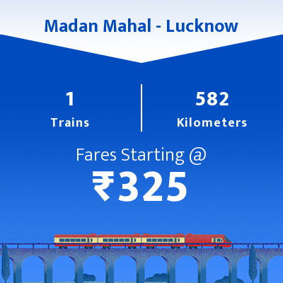 Madan Mahal To Lucknow Trains