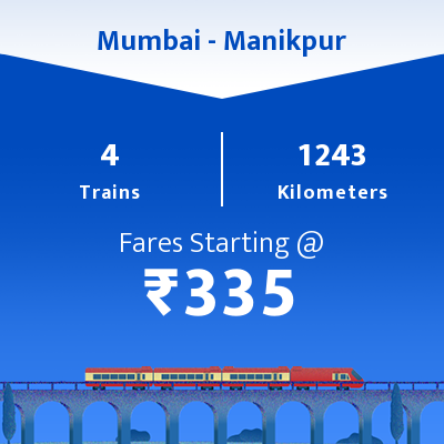 Mumbai To Manikpur Trains