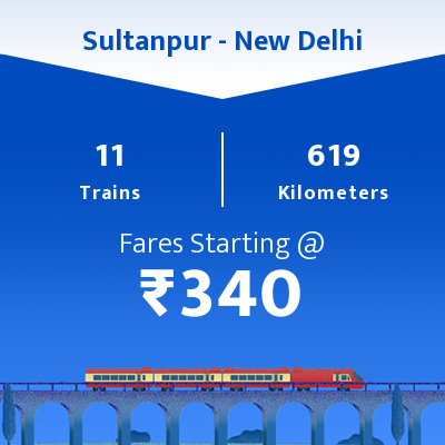 Sultanpur To New Delhi Trains