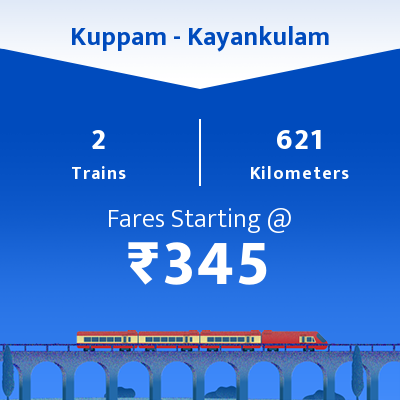 Kuppam To Kayankulam Trains