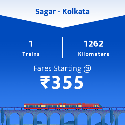 Sagar To Kolkata Trains