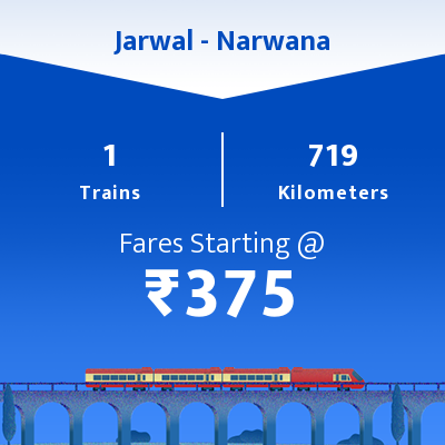 Jarwal To Narwana Trains