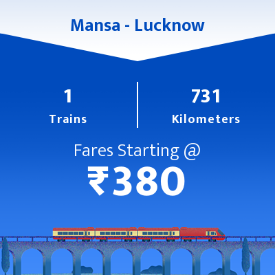 Mansa To Lucknow Trains