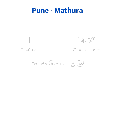 Pune To Mathura Trains