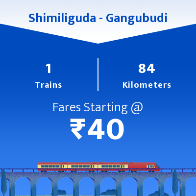 Shimiliguda To Gangubudi Trains