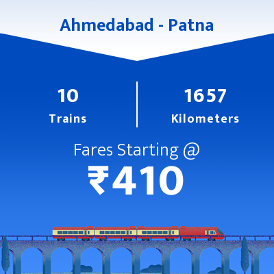 Ahmedabad To Patna Trains