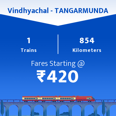 Vindhyachal To TANGARMUNDA Trains