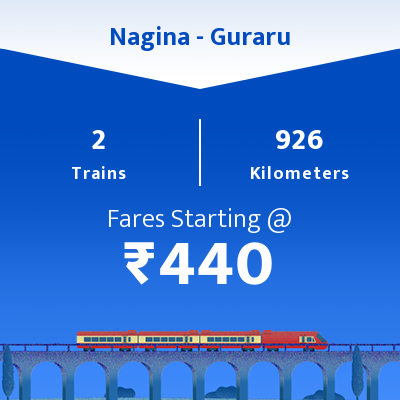 Nagina To Guraru Trains
