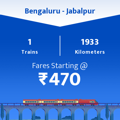 Bengaluru To Jabalpur Trains