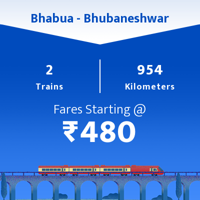 Bhabua To Bhubaneshwar Trains