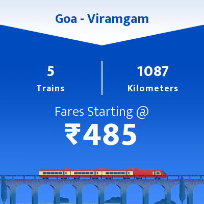 Goa To Viramgam Trains