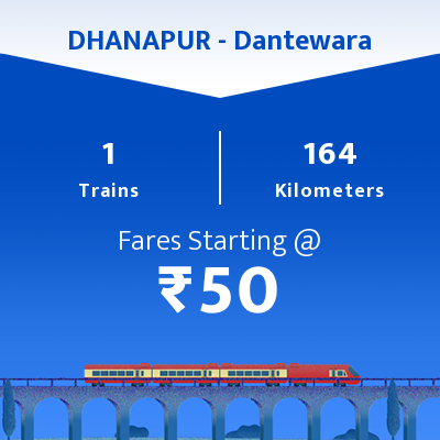 DHANAPUR To Dantewara Trains