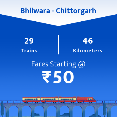 Bhilwara To Chittorgarh Trains