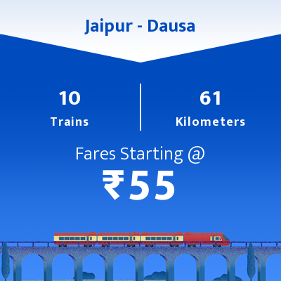 Jaipur To Dausa Trains