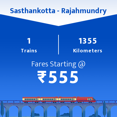 Sasthankotta To Rajahmundry Trains