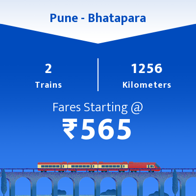 Pune To Bhatapara Trains